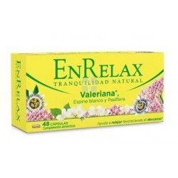 Enrelax Valeriana 48 cápsulas