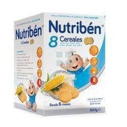 Nutriben Papilla 8 Cereales Galleta Maria 600 gr