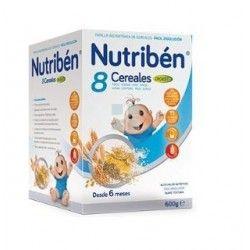 PAPILLA NUTRIBEN 8 CEREALES DIGEST 600 G