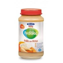 HERO BABY PEDIALAC POLLO CON ARROZ 235 G