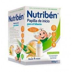 PAPILLA BIBERON NUTRIBEN INICIO 600 GR