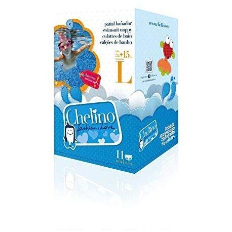 Chelino Fashion & Love Pañal Bañador Infantil T - L 15 Kg 12 Pañal