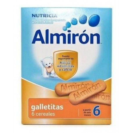 Almiron Galletitas 6 Cereales 180 gr