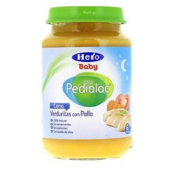 Hero Baby Pedialac Cena Crema de Verduritas Tiernas con Pollo + 6 Meses 250 G
