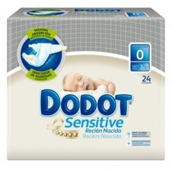 Dodot Sensitive Protection Plus Recien Nacido 24 uds