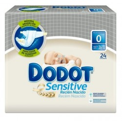DODOT SENSITIVE PROTECTION PLUS RECIEN NACIDO 24 UNIDADES