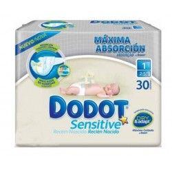 Dodot Sensitive Protection Plus Talla 1 (2 - 5 Kg) 28 uds