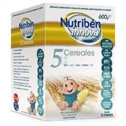 Papilla Nutriben Innova 5 Cereales 600 gr