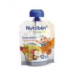 Nutriben Ffruta & Go Frutas Variadas 90 gr