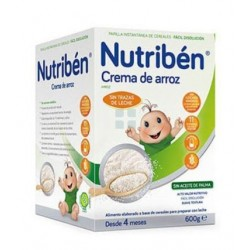 Nutriben Crema Arroz 600 gr