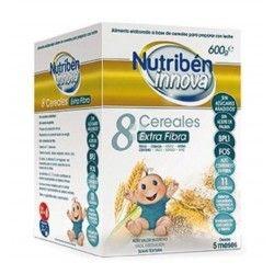 Papilla Nutriben Innova 8 Cereales Extra Fibra 600 gr
