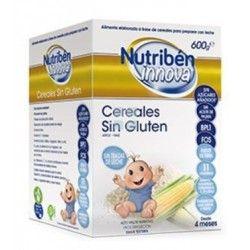 Papilla Nutriben Innova Cereales Sin Gluten 600 gr