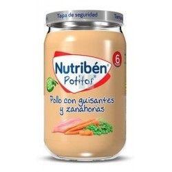 Nutriben Potito Pollo Guisantes y Zanahoria 235 gr