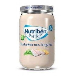Nutriben Potito Verduritas con Lenguado 235 gr