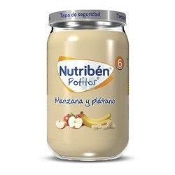 Nutriben Potito Platano y Manzana 235 gr
