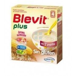 Blevit Plus Papilla de Cereales Sin Gluten 600 gr