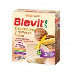 BLEVIT PLUS DUPLO 8 CEREALES Y GALLETAS MARÌA 2X300 GR