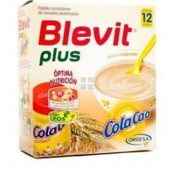 BLEVIT PLUS PAPILLA DE 5 CEREALES COLACAO 600 GR