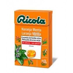 Ricola Caramelos Sin Azucar Naranja 50 gr