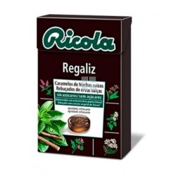Ricola Caramelos Sin Azucar Regaliz 50 gr