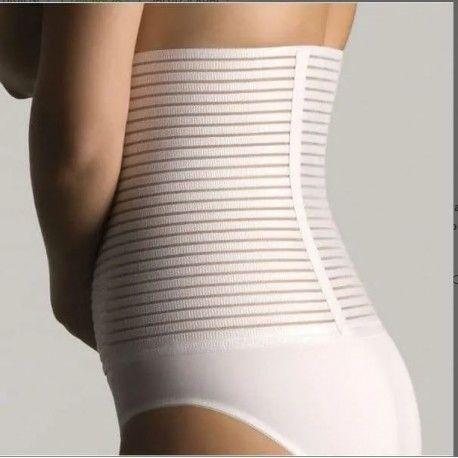 Faja Lumbar Farmalastic Velcro Blanca Talla 2