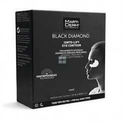MARTIDERM BLACK DIAMOND IONTO-LIFT PARCHES CONTORNO OJOS + GEL