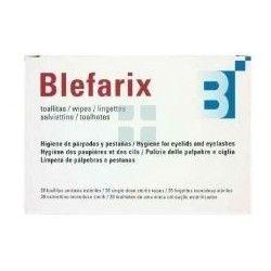 Blefarix Toallitas Higiene Parpados y Pestañas 20 Toallitas