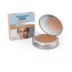 ISDIN FOTOPROTECTOR SPF50+ MAQUILLAJE COMPACTO BRONCE 10G