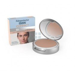 Isdin Fotoprotector SPF50+ Maquillaje Compacto Arena 10 gr