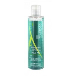A-Derma Phys-Ac Gel Limpiador Purificante 400 ml