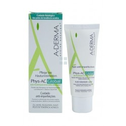 A-Derma Phys-Ac Global Cuidado Completo Anti-Imperfecciones 40 ml