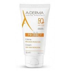A-Derma Protect SPF50+ Crema Sin Perfume 40 ml