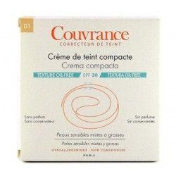 Avene Couvrance Crema Compacta Oil-Free Porcelana 10 gr