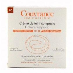 Avene Couvrance Crema Compacta Enriquecida Bronceado 10 gr