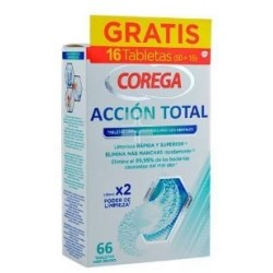 COREGA ACCION TOTAL 66 PASTILLAS LIMPIADORAS