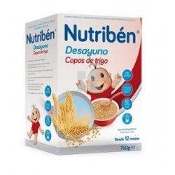 NUTRIBEN DESAYUNO COPOS TRIGO 750 G