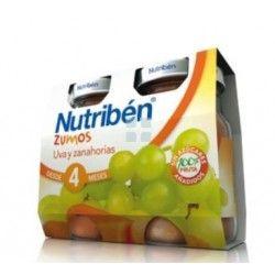 Nutriben Zumo Uva Zanahoria Duplo 130 ml
