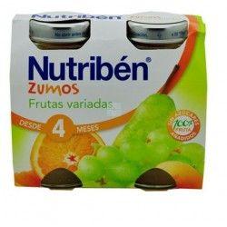NUTRIBEN ZUMO FRUTAS VARIADAS DUPLO 130 ML