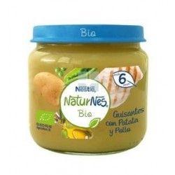 Nestle Naturnes Bio Tarrito Guisante Patata y Pollo 200 gr