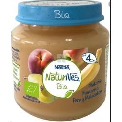 Nestle Naturnes Bio Tarrito Platano Manzana Pera y Melocoton 120 gr