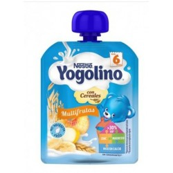 NESTLE YOGOLINO BOLSITA CON CEREALES MULTIFRUTAS 90 G