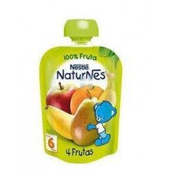Nestle Naturnes Bolsita 4 Frutas 90 gr