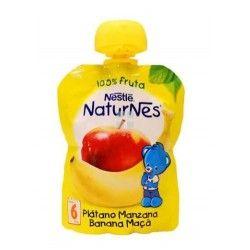 Nestle Naturnes Bolsita Platano y Manzana 90 gr