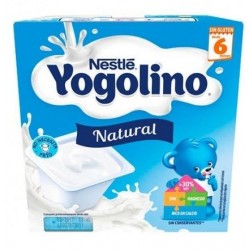 Nestle yogolino Natural 4 uds x 100 gr