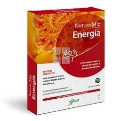 ABOCA NATURA MIX ADVANCED ENERGIA 10 FRASCOS MONODOSIS