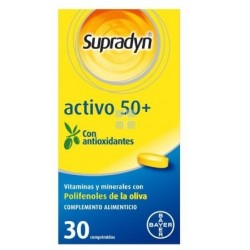 SUPRADYN ACTIVO 50+ AÑOS 30 COMPRIMIDOS