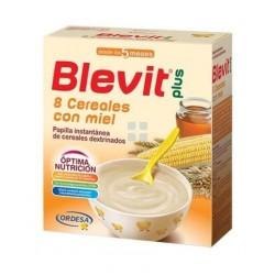 BLEVIT PLUS DUPLO 8 CEREALES CON MIEL 300 GR