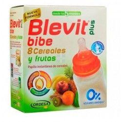 BLEVIT PLUS BIBE 8 CEREALES Y FRUTAS ( +5 MESES) 600 GR