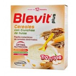 BLEVIT PLUS CEREALES Y CRUNCHIES DE FRUTA 600 GR