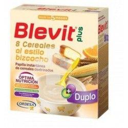 BLEVIT PLUS DUPLO 8 CEREALES BIZCOCHO 600 GR